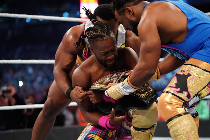 Image result for kofi vs daniel bryan wrestlemania