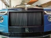 A hand made Rolls-Royce described as 'the most refined picnic facility on earth' is unveiled at the company's factory in Goodwood