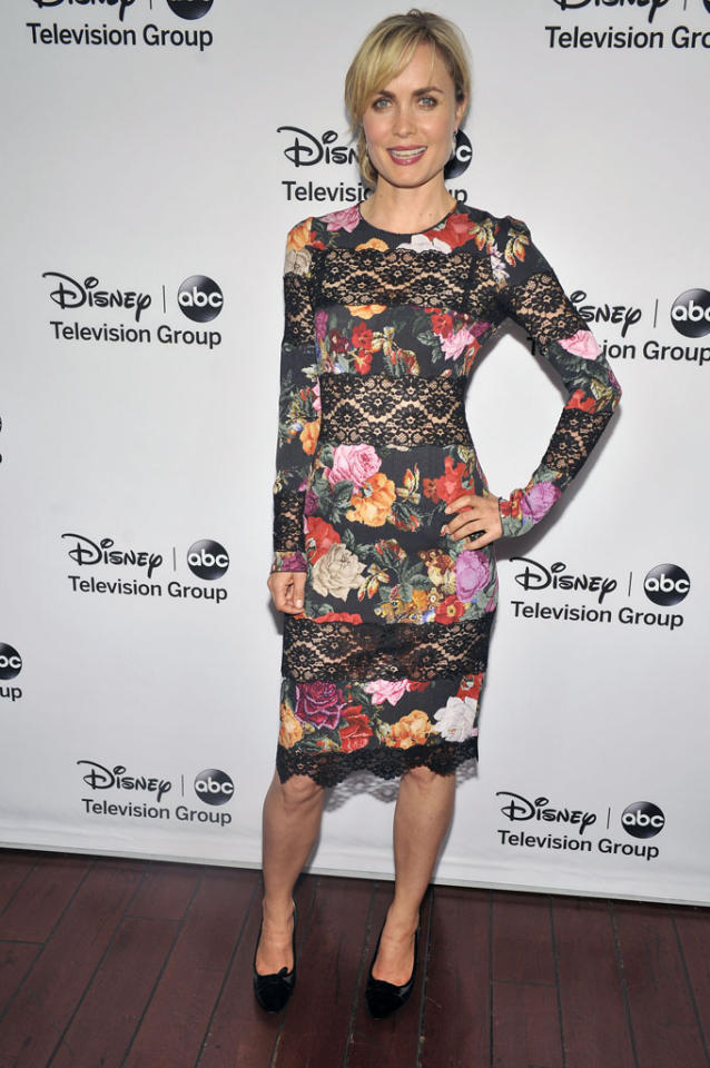 "Rada Mitchell (""Red Widow"") attends the Disney ABC Television Group 2013 TCA Winter Press Tour at The Langham Huntington Hotel and Spa on January 10, 2013 in Pasadena, California."