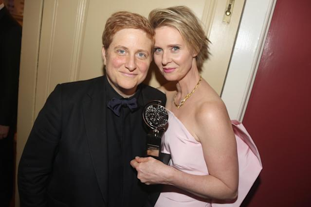 Cynthia Nixon has been married to Christine Marinoni for almost six years. (Photo: Getty Images)