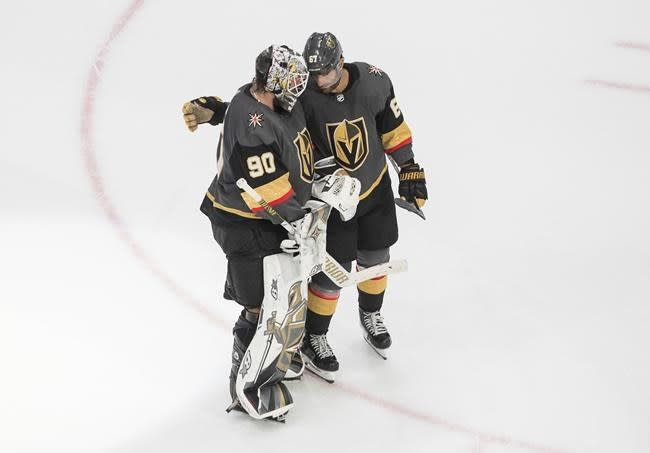 Robin Lehner gets shutout as Vegas beats Vancouver 5-0 to win NHL playoff opener