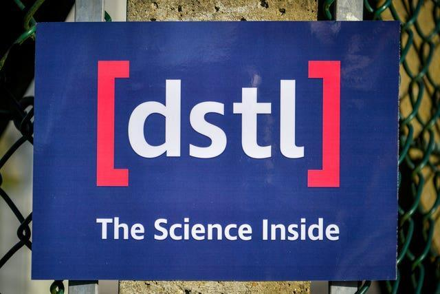 Defence Science and Technology Laboratory at Porton Down
