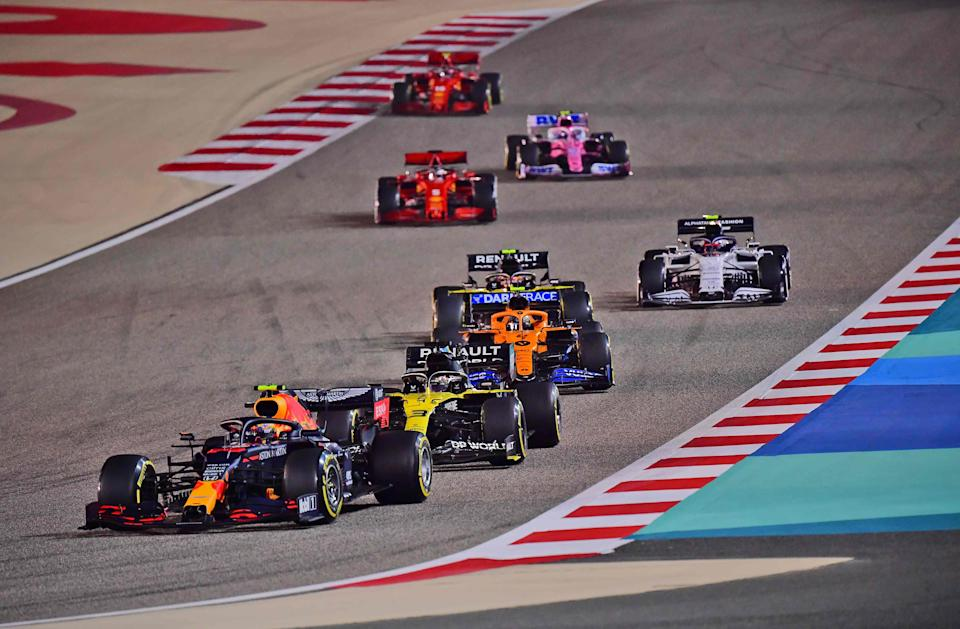 Bahrain stages the penultimate round of the 2020 F1 season (AFP via Getty)
