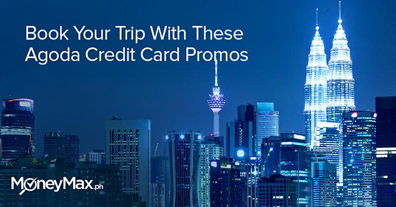 Book your trip with Agoda Credit card promos
