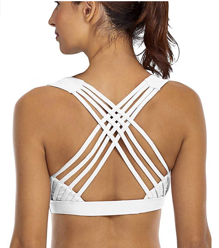 Yianni Strappy Sports Bra. (Photo: Amazon)