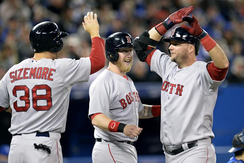 Pierzynski hits slam as Red Sox beat Blue Jays 7-6