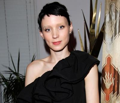 Rooney Mara attends W Magazine's Celebration of The Best Performances Issue and The Golden Globes held at Chateau Marmont in Los Angeles on January 14, 2011 -- WireImage