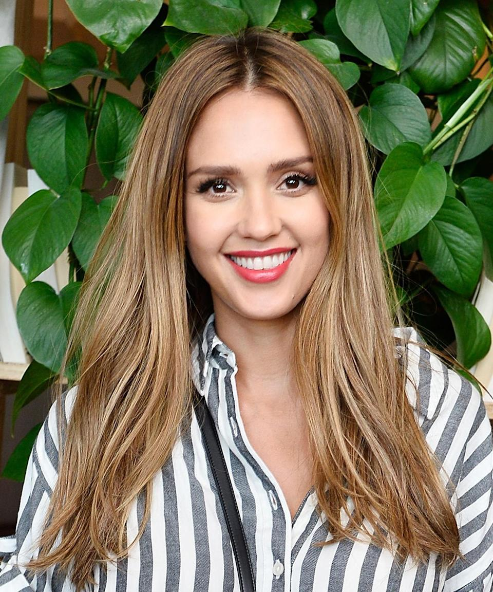 Jessica Alba wore the cutest maternity look this week. See it here.