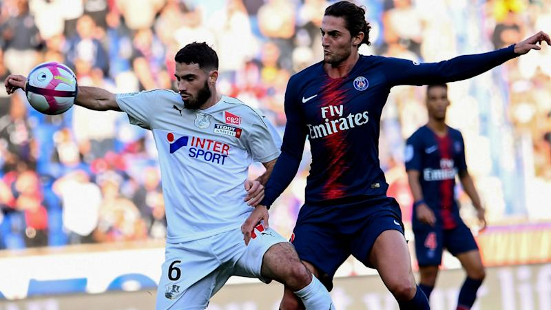 Adrien Rabiot Thomas Monconduit PSG Amiens Ligue 1 20102018