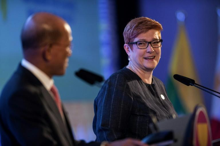 Philippine Defence Minister Delfin Lorenzana and Australia's Defence Minister Marise Payne announced plans for military cooperation