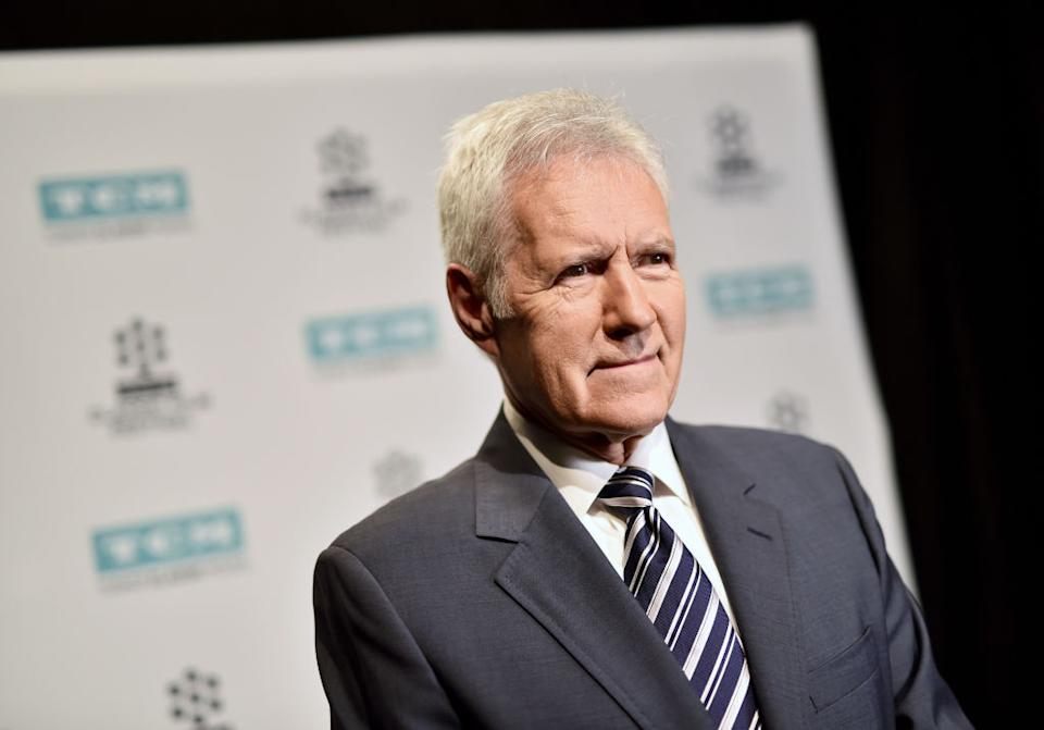 Alex Trebek attends the 2017 TCM Classic Film Festival on April 7, 2017, in L.A. (Photo: Emma McIntyre/Getty Images for TCM)