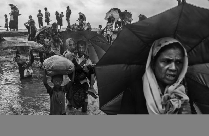 Burmese militants have killed, raped, beaten and tortured Rohingya without consequence from Suu Kyi. (Kevin Frayer via Getty Images)