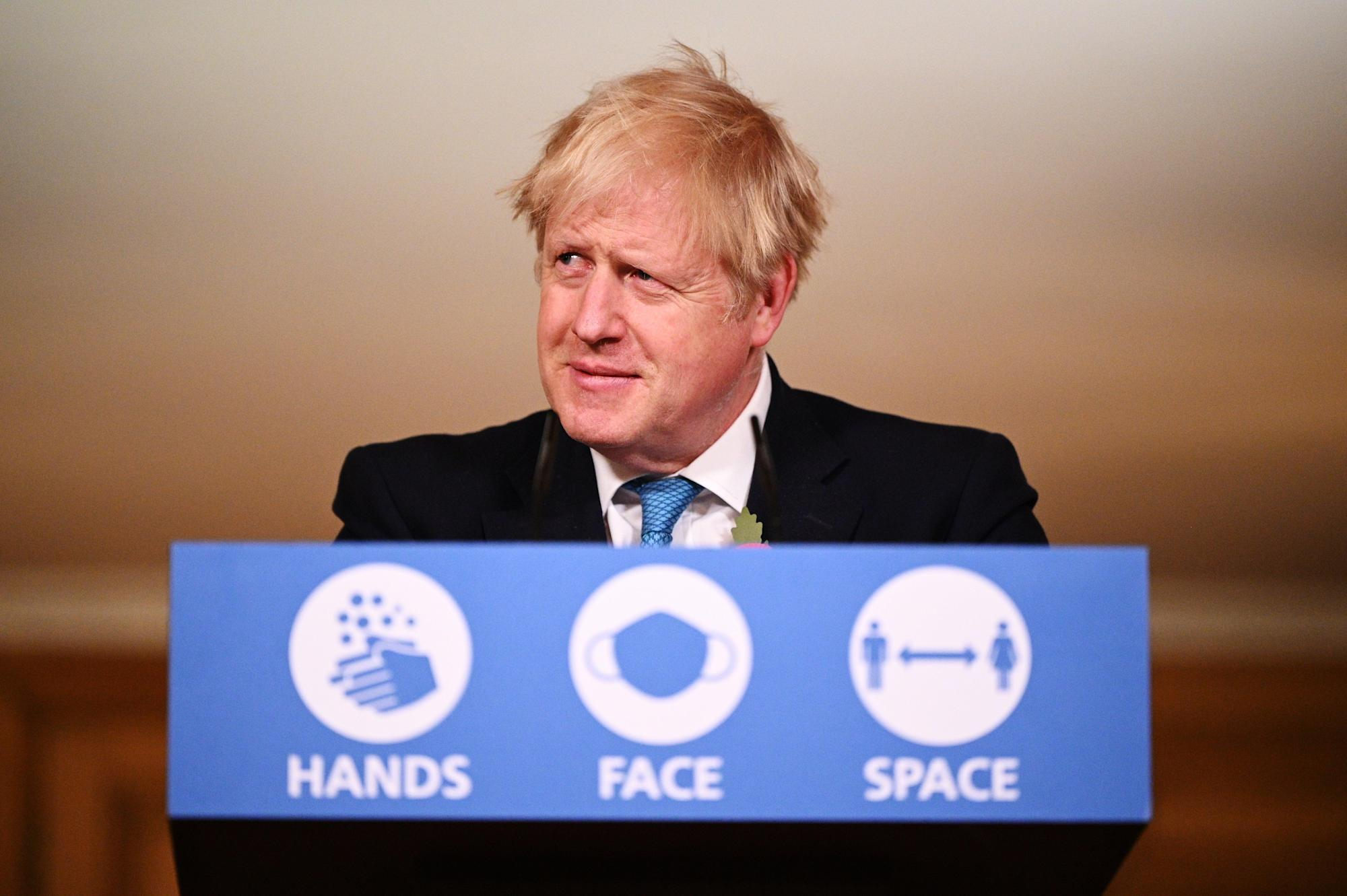 Boris Johnson congratulates Joe Biden on victory and says he 'looks forward to working closely together'