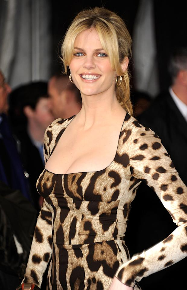 """<a href=""""http://movies.yahoo.com/movie/contributor/1810172733"""">Brooklyn Decker</a> attends the Los Angeles premiere of <a href=""""http://movies.yahoo.com/movie/1810150358/info"""">Just Go With It</a> on February 8, 2011."""