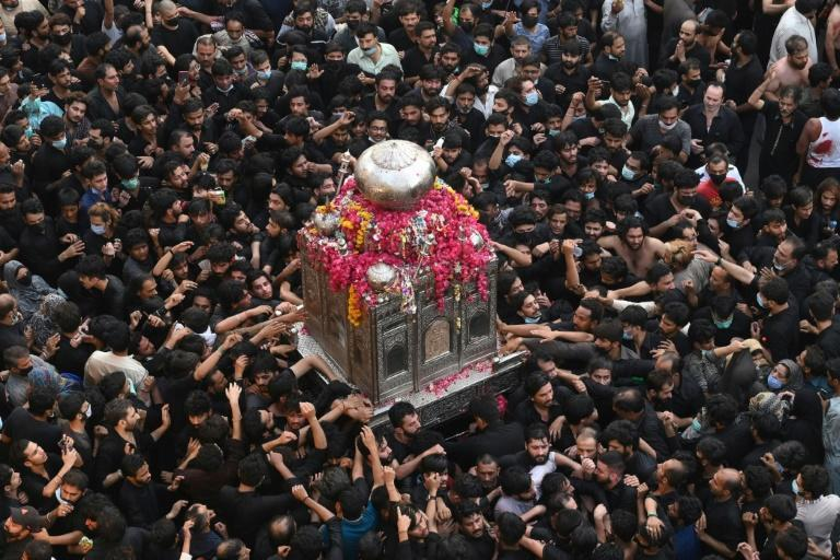 The federal government had issued a notice banning mass gatherings commemorating the death of Prophet Mohammad's companion and son-in-law Imam, but local negotiations with religious leaders failed
