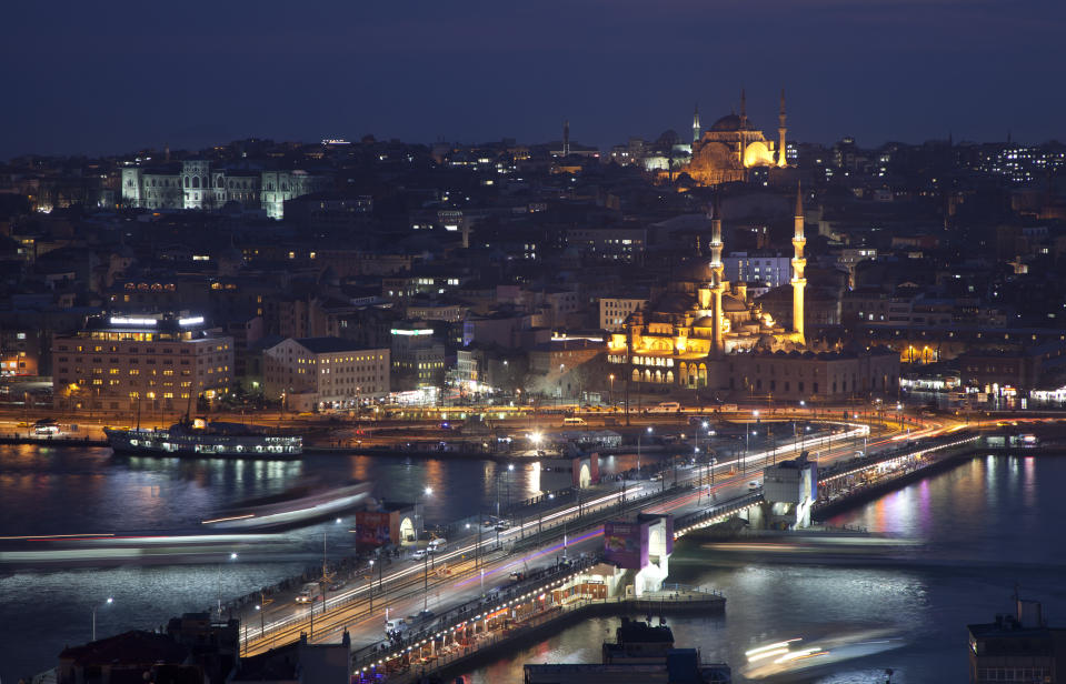 <p><b>Turkey</b> Visa for Indians can be obtained on arrival provided holding a visa issued by the UK, USA or a Schengen Country for $20. Turkey boasts of rich history (the Ottoman empire) and great scenery from white-sand beaches to towering mountains.</p><p>Photo: Getty Images </p>