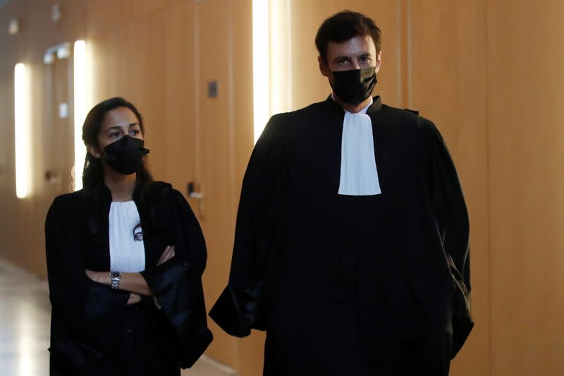 Second day of the trial of the Paris' November 2015 attacks at Paris courthouse