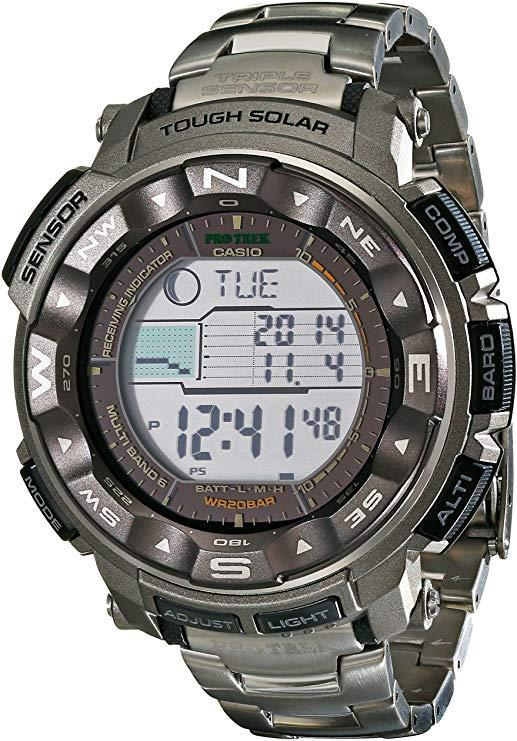 This Casio is a powerhouse for outdoor enthusiastists. (Photo: Amazon)