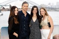 <p>Eric Bana brings his wife Rebecca Gleeson, daughter Sophie and niece Jasmine Taylor to the Sydney, Australia, premiere of <em>The Dry</em> on Wednesday.</p>