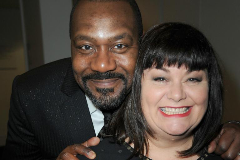 Dawn French says racists tried to burn down house while she was married to Lenny Henry