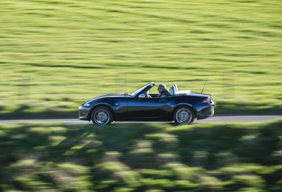 The Mazda MX-5 is huge fun to drive in all conditions