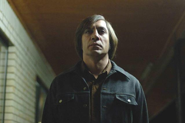 Javier Bardem in <i>No Country for Old Men.</i> (Photo: Miramax/Paramount)