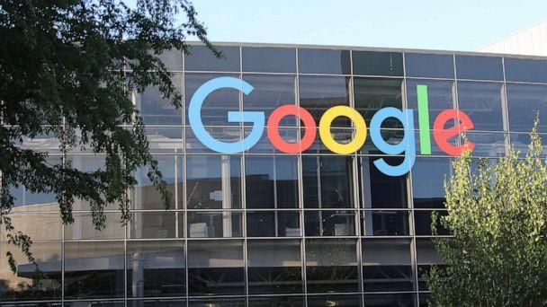 PHOTO: In this July 3, 2018, file photo, the logo of Google is shown on the facade of headquarters of the parent company Alphabet. (Christoph Dernbach/picture alliance via Getty Images, FILE)