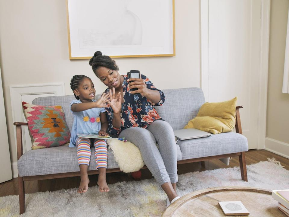 """<p><a href=""""https://www.popsugar.com/family/marco-polo-video-text-message-app-to-keep-in-touch-with-kids-47318202"""" class=""""link rapid-noclick-resp"""" rel=""""nofollow noopener"""" target=""""_blank"""" data-ylk=""""slk:Marco Polo is a video message app"""">Marco Polo is a video message app</a> that doesn't require scheduled chats since it doesn't have to be used """"live."""" My kids record moments throughout the day, and when their grandparents are available, they watch the video and respond as time permits. The best part about it is that video messages don't disappear and can be watched over and over, giving kids and grandparents the ability to """"see"""" and listen to each other whenever they want to feel a little closer to one another.</p>"""