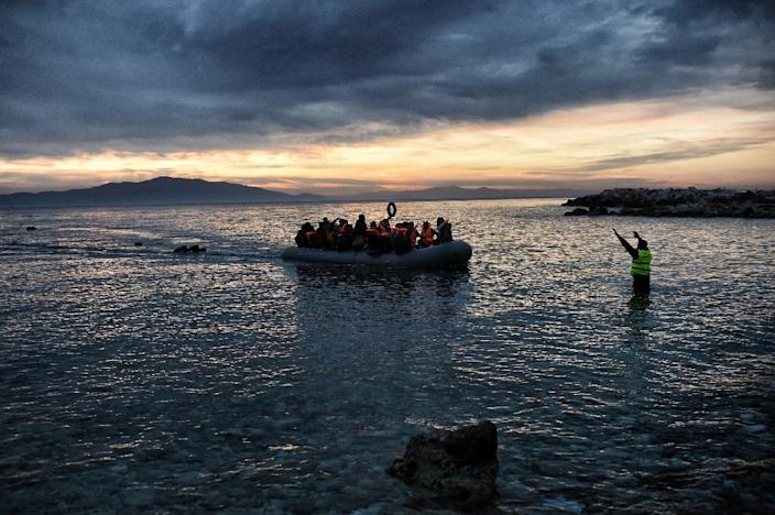 The EU struck a migrant deal with Turkey to halt the mass migration which has created enormous strain in Greece and eastern Europe (AFP Photo/Aris Messinis)