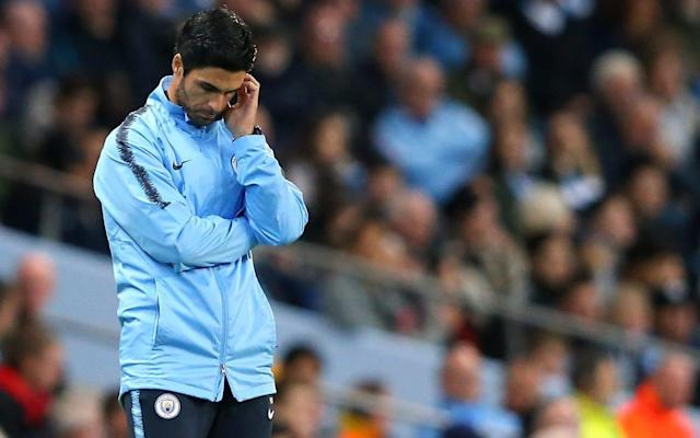 Mikel Arteta admitted that Manchester City started slowly on Wednesday night - Getty Images Europe
