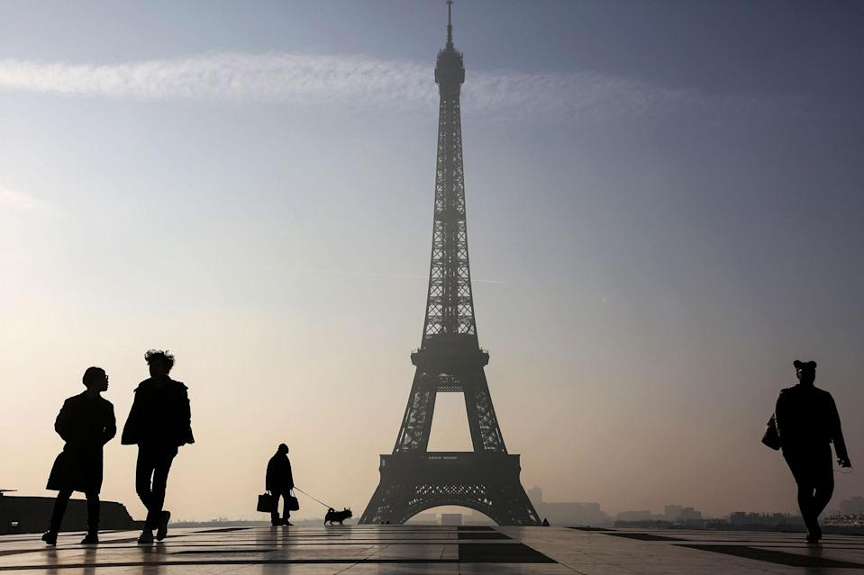 Flying from the UK to Paris costs an average of almost £200 more than coming the other way (Ludovic Marin/AFP/Getty Images)