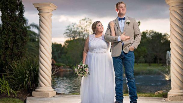PHOTO: Chloe and Timothy Watterreus of Kingwood, Texas, were surprised with a free dream wedding after their home and original wedding plans were ruined by the storm. (Chad Sanders/ClearShutter Photos)