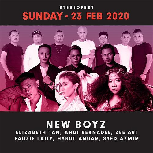 The second day brings you Elizabeth Tan, New Boyz, Andi Bernadee, Zee Avi and Hyrul Anuar from Malaysia.