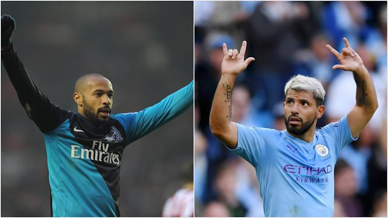 Aguero v Henry: How the Premier League's highest overseas goalscorers compare