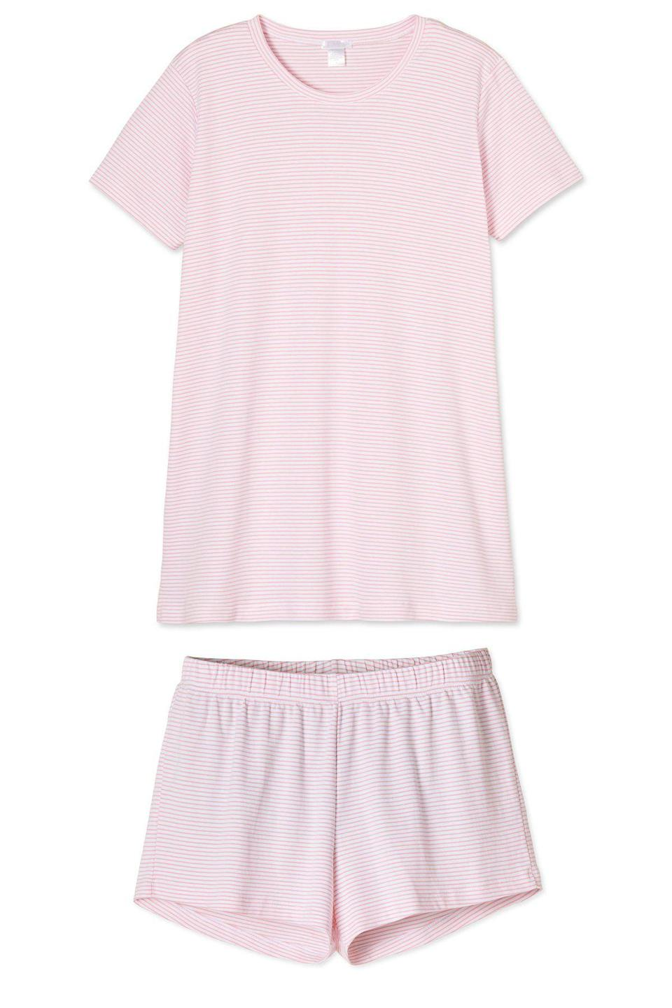 """<p>lakepajamas.com</p><p><strong>$94.00</strong></p><p><a href=""""https://lakepajamas.com/collections/maternity/products/lily-maternity-weekend-shorts-set"""" rel=""""nofollow noopener"""" target=""""_blank"""" data-ylk=""""slk:Shop Now"""" class=""""link rapid-noclick-resp"""">Shop Now</a></p><p>Pregnancy is uncomfortable, before and after the baby is born, and all new moms will welcome a comfortable pair of luxurious pima cotton pajamas from <a href=""""https://lakepajamas.com/"""" rel=""""nofollow noopener"""" target=""""_blank"""" data-ylk=""""slk:Lake Pajamas"""" class=""""link rapid-noclick-resp"""">Lake Pajamas</a>.</p>"""