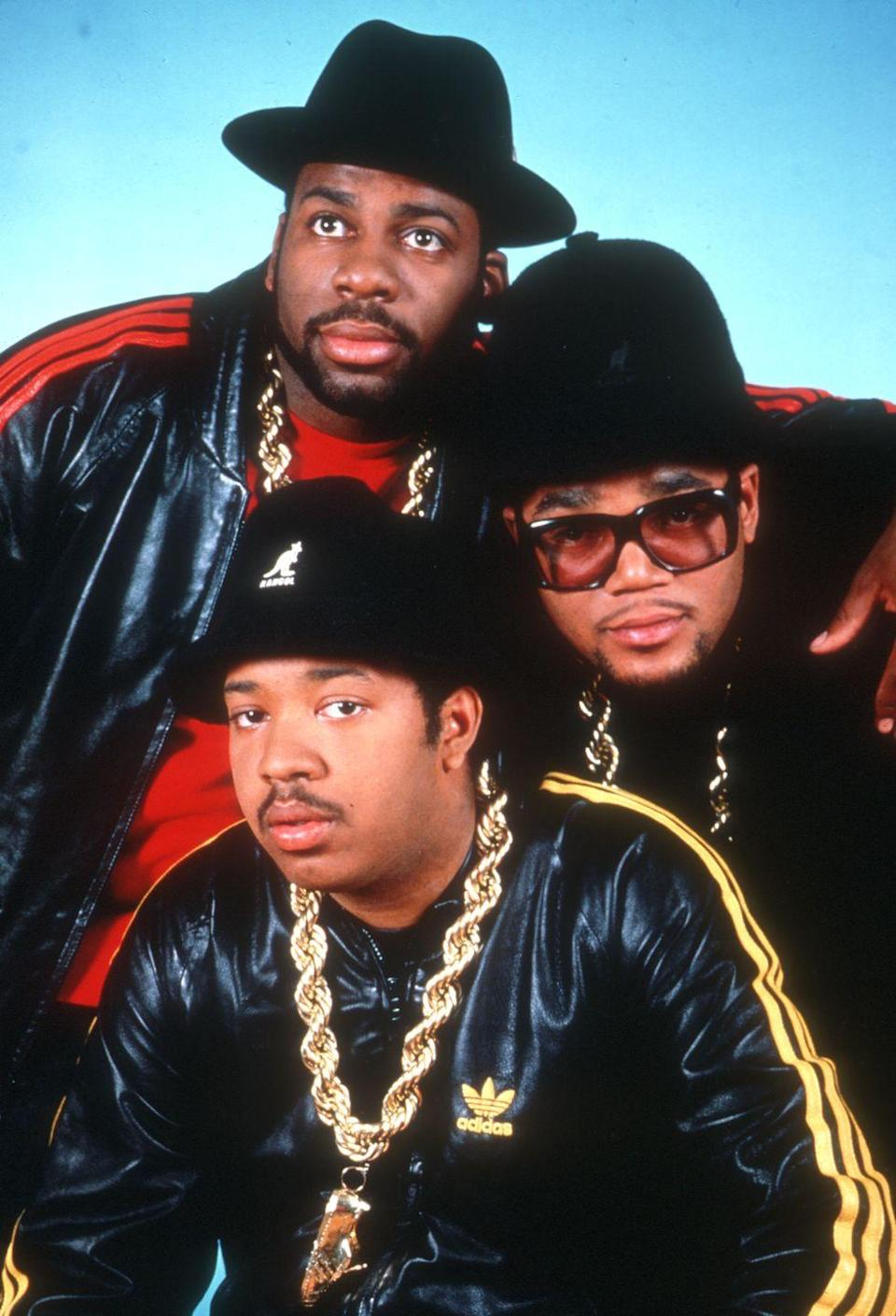 """<p>When it comes to hip-hop Christmas songs, nothing comes close to Run DMC's ode to spending the holiday in Queens and having a chance run-in with Santa Claus</p><p><a class=""""link rapid-noclick-resp"""" href=""""https://www.amazon.com/Christmas-In-Hollis/dp/B001BIQJBO?tag=syn-yahoo-20&ascsubtag=%5Bartid%7C10055.g.2680%5Bsrc%7Cyahoo-us"""" rel=""""nofollow noopener"""" target=""""_blank"""" data-ylk=""""slk:AMAZON"""">AMAZON</a> <a class=""""link rapid-noclick-resp"""" href=""""https://go.redirectingat.com?id=74968X1596630&url=https%3A%2F%2Fmusic.apple.com%2Fus%2Falbum%2Ftougher-than-leather-expanded-edition%2F251085283&sref=https%3A%2F%2Fwww.goodhousekeeping.com%2Fholidays%2Fchristmas-ideas%2Fg2680%2Fchristmas-songs%2F"""" rel=""""nofollow noopener"""" target=""""_blank"""" data-ylk=""""slk:ITUNES"""">ITUNES</a></p>"""