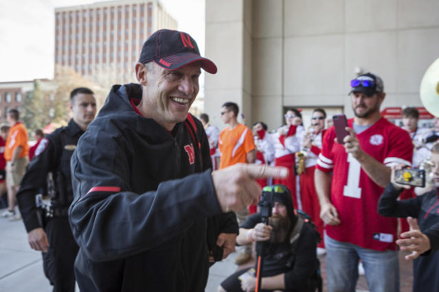 Mike Riley was fired after a 4-8 season at Nebraska. The school hired Scott Frost as his replacement. (AP)