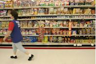"""<p>According to London, while they're great for portion control, snack packs aren't so great for your wallet. Consumers can save $150 per year by nixing individual serving bags of potato chips, according to <a href=""""https://clark.com/"""" rel=""""nofollow noopener"""" target=""""_blank"""" data-ylk=""""slk:clark.com"""" class=""""link rapid-noclick-resp"""">clark.com</a>. Those little bags, and lunch-sized portions of produce, are often marked up by 50%.</p>"""