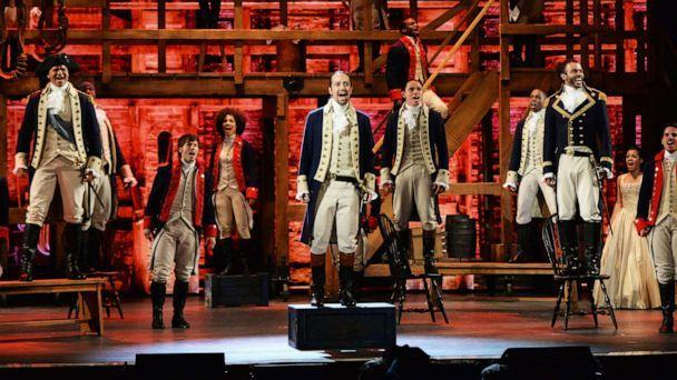 PHOTO: Lin-Manuel Miranda and the cast of 'Hamilton' perform onstage during the 70th Annual Tony Awards at The Beacon Theatre on June 12, 2016, in New York. (Kevin Mazur/Getty Images for Tony Awards Productions, FILE)