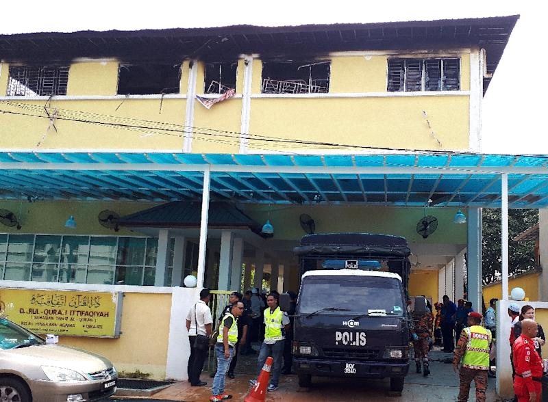 Image result for Malaysia: At Least 24 dies as fire occurs at Religious School in Kuala Lumpur