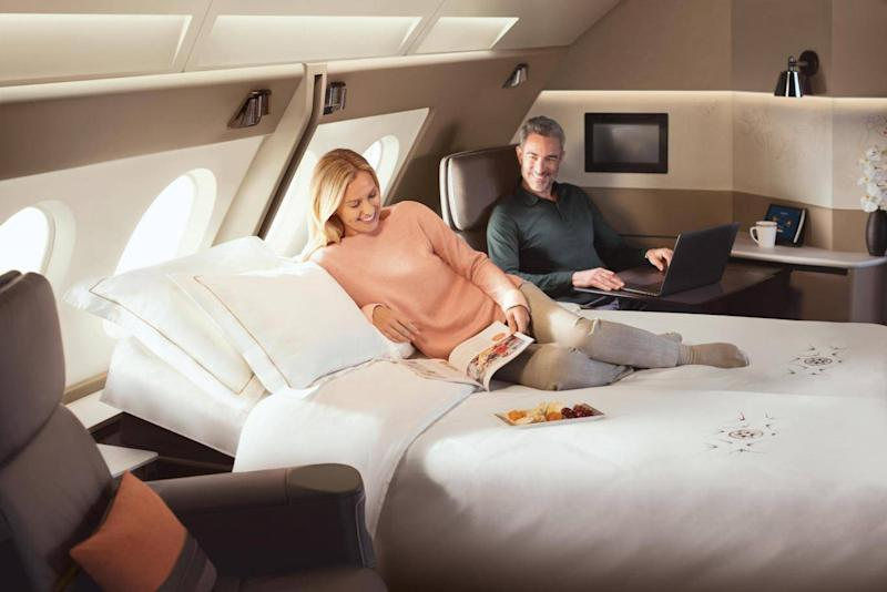 Singapore Airlines' suites have set a new standard in luxury (Singapore Airlines)
