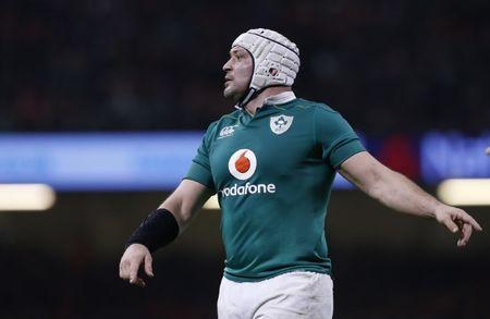 FILE PHOTO - Britain Rugby Union - Wales v Ireland - Six Nations Championship - Principality Stadium, Cardiff - 10/3/17 Ireland's Rory Best  Action Images via Reuters / Andrew Boyers Livepic