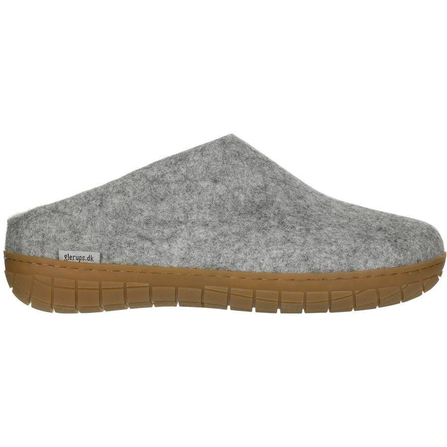 """<h2>Glerups The Slip-on Rubber Slipper</h2><br>These wooly Danish slides are legendary for their comfort and biodegradable construction. They're also the perfect slip-ons for occasionally shuffing outside.<br><br><strong>Glerups</strong> The Slip-On Rubber Slipper, $, available at <a href=""""https://go.skimresources.com/?id=30283X879131&url=https%3A%2F%2Fwww.backcountry.com%2Fglerups-slip-on-rubber-slipper"""" rel=""""nofollow noopener"""" target=""""_blank"""" data-ylk=""""slk:Backcountry"""" class=""""link rapid-noclick-resp"""">Backcountry</a>"""