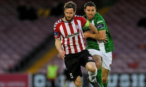 Cup games postponed after Derry City captain Ryan McBride dies aged 27