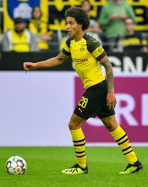 Belgium midfielder Axel Witsel has now scored twice in as many games for Borussia Dortmund after netting with a stunning bicycle kick on Sunday in the 4-1 hammering of RB Leipzig