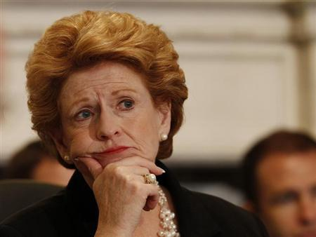 Chairwoman Stabenow listens to testimony before Senate Agriculture Committee in Washington