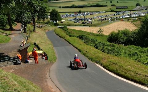 Shelsley Walsh hillclimb, Worcestershire