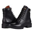 """Channel your inner baddie with this classic lace up-style boot, which feel like a fashion-forward version of Timbs. $240, Amazon. <a href=""""https://www.amazon.com/COACH-Lorimer-Leather-Bootie-Black/dp/B08FR2TP7S"""" rel=""""nofollow noopener"""" target=""""_blank"""" data-ylk=""""slk:Get it now!"""" class=""""link rapid-noclick-resp"""">Get it now!</a>"""