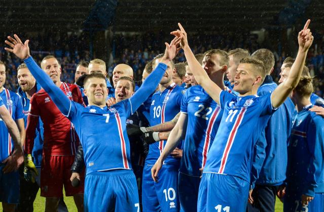 Iceland qualified for the 2018 World Cup with a 2-0 victory over Kosovo. (Getty)