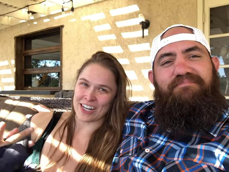 Ronda Rousey confirms she's leaving WWE indefinitely to start a family with husband Travis Browne
